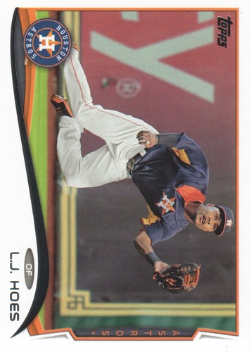Photo of 2014 Topps #647 L.J. Hoes