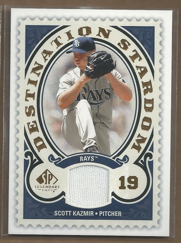 Photo of 2009 SP Legendary Cuts Destination Stardom Memorabilia #SK Scott Kazmir
