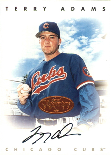 Photo of 1996 Leaf Signature Autographs #3 Terry Adams