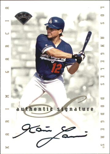 Photo of 1996 Leaf Signature Extended Autographs #57 Karim Garcia SP/2500