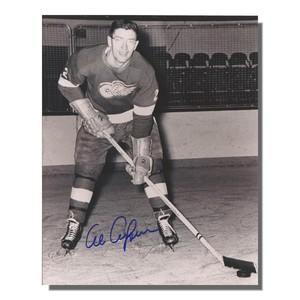 Al Arbour Autographed Detroit Red Wings 8x10 Photo