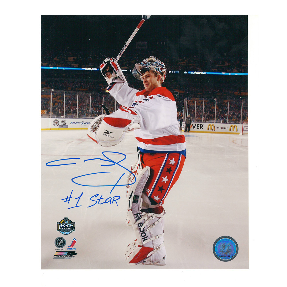 SEMYON VARLAMOV Signed Washington Capitals 8 X 10 Photo - 70485