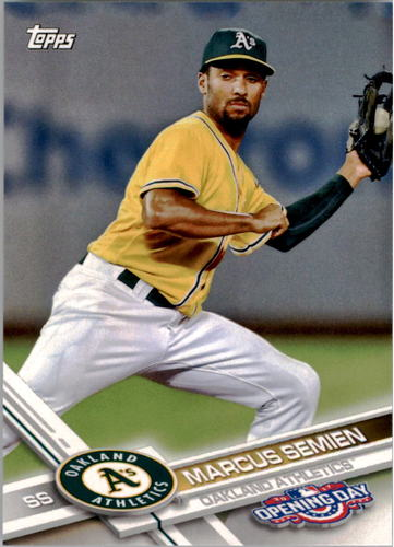Photo of 2017 Topps Opening Day #59 Marcus Semien