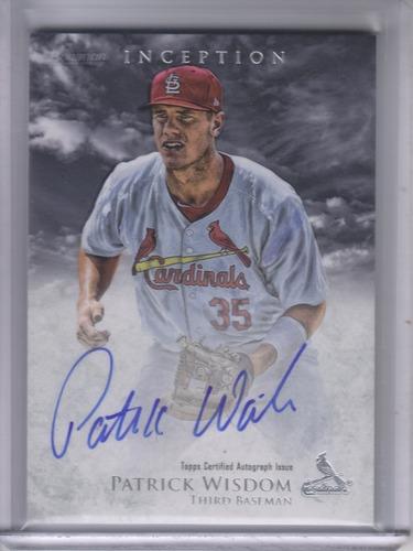 Photo of 2013 Bowman Inception Prospect Autographs #PW Patrick Wisdom