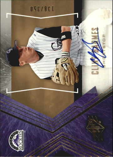 Photo of 2005 SPx Signature #21 Clint Barmes/350