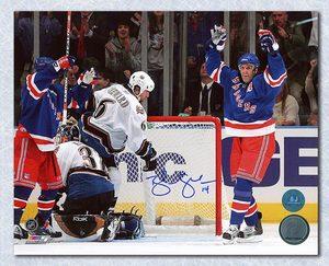 Brendan Shanahan New York Rangers Autographed 600th Goal 8x10 Photo