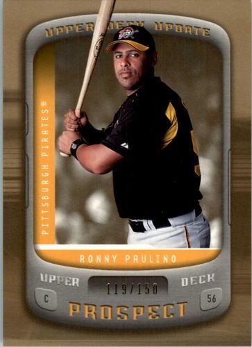 Photo of 2005 Upper Deck Update Gold #157 Ronny Paulino PR