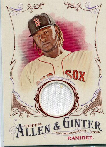 Photo of 2016 Topps Allen and Ginter Relics #FSRBHR Hanley Ramirez B