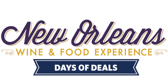 NEW ORLEANS WINE & FOOD EXPERIENCE - PACKAGE 1 of 3