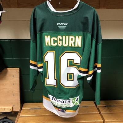 Sean McGurn Warmup Jersey