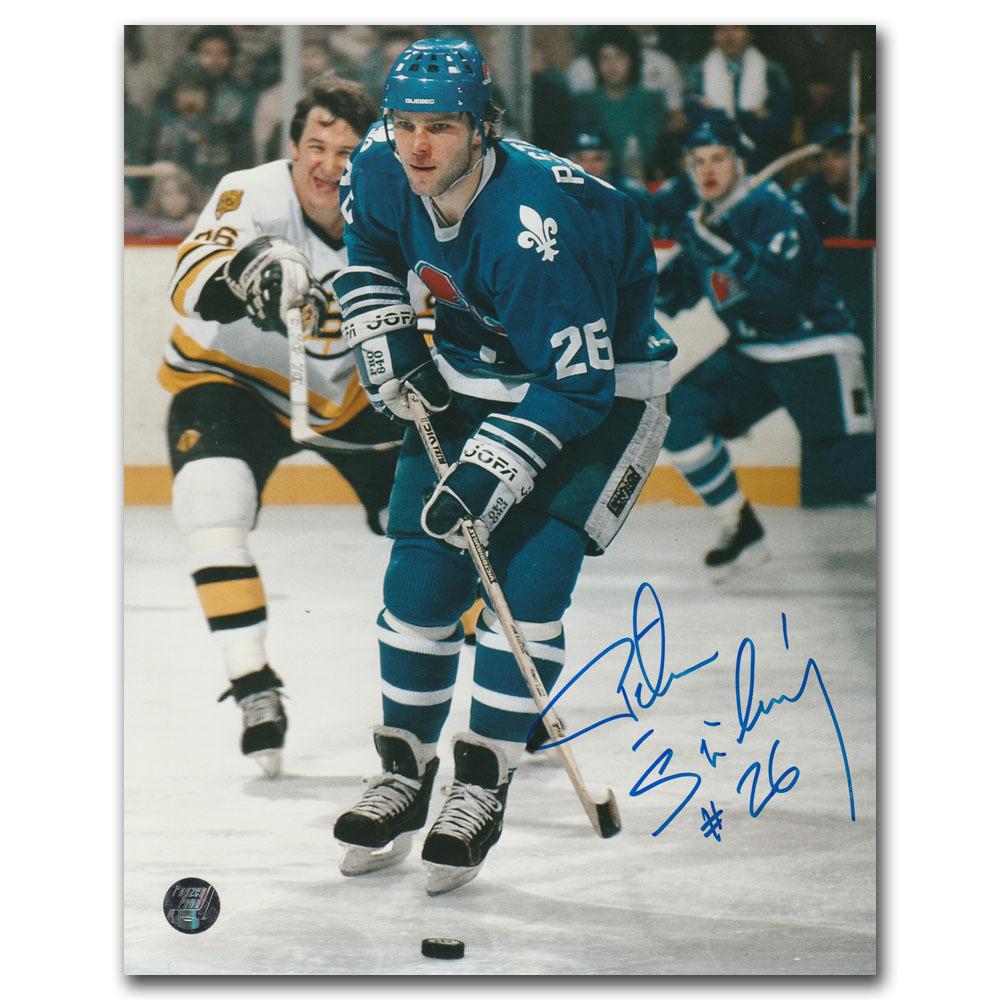 Peter Stastny Autographed Quebec Nordiques 8X10 Photo