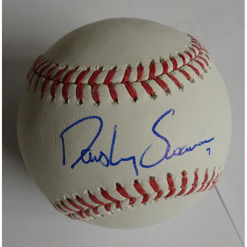 Photo of Dansby Swanson Autographed Baseball