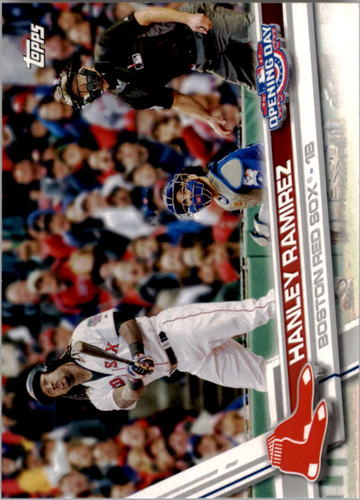 Photo of 2017 Topps Opening Day #60A Hanley Ramirez