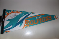 DOLPHINS - KELVIN SHEPPARD SIGNED DOLPHINS PREMIUM PENNANT