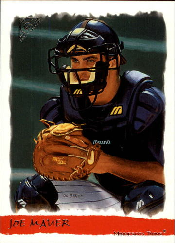 Photo of 2002 Topps Gallery #186 Joe Mauer Rookie Card-- Twins post-season