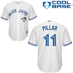 Cool Base Replica Kevin Pillar Home Jersey by Majestic