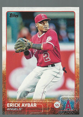 Photo of 2015 Topps #295 Erick Aybar