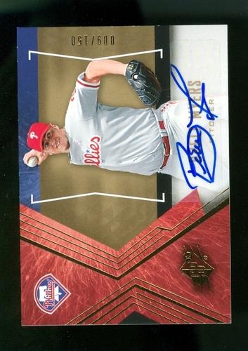 Photo of 2005 SPx Signature #36 Brett Myers/150
