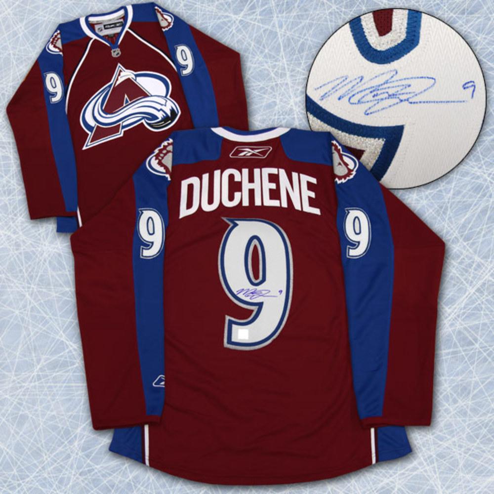 Matt Duchene Colorado Avalanche Autographed Reebok Premier Hockey Jersey