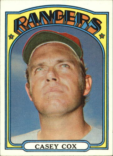 Photo of 1972 Topps #231 Casey Cox