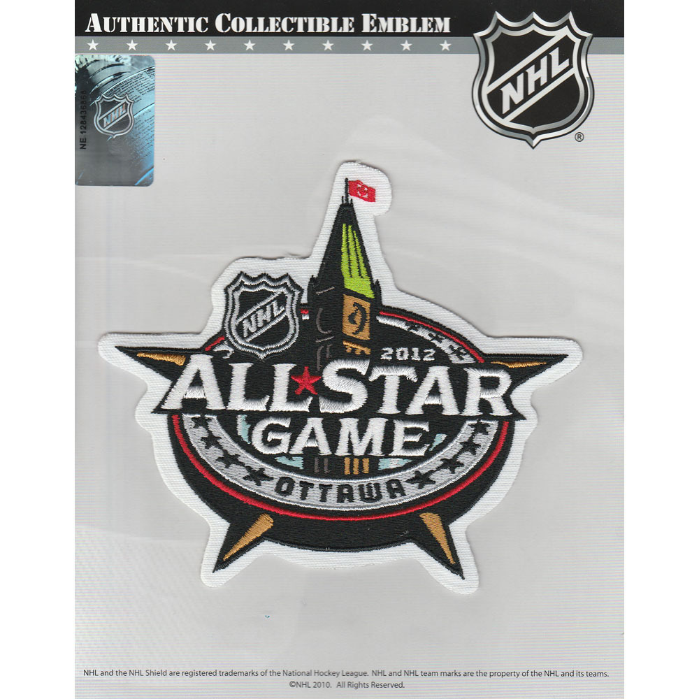 Ottawa Senators 2012 NHL All-Star Game Jersey Patch
