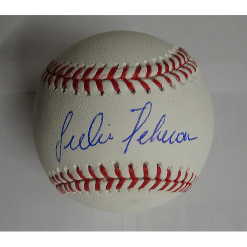 Photo of Julio Teheran Autographed Baseball