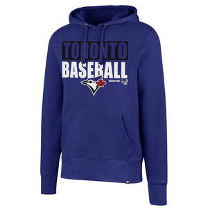 Toronto Blue Jays Headline Fleece Hoody Royal by '47 Brand