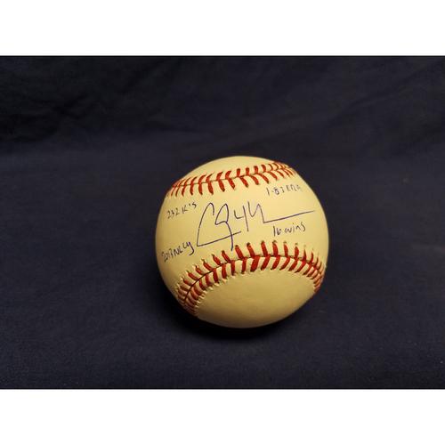 Photo of Kershaw's Challenge: Clayton Kershaw 2013 Autographed Ball