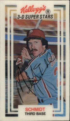 Photo of 1983 Kellogg's #58 Mike Schmidt