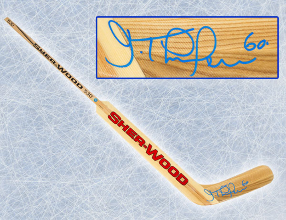 Jose Theodore Montreal Canadiens Autographed Sherwood G350 SR Goalie Stick