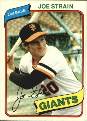 Photo of 1980 Topps #538 Joe Strain