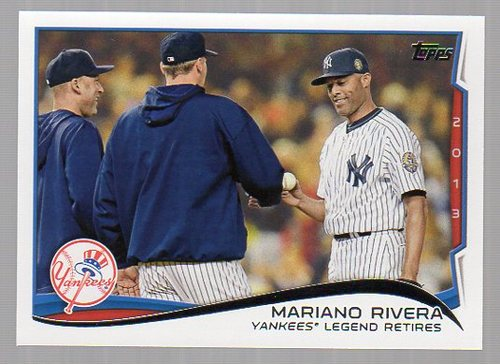 Photo of 2014 Topps #321 Mariano Rivera HL