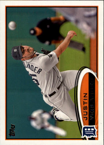 Photo of 2012 Topps #639A Justin Verlander