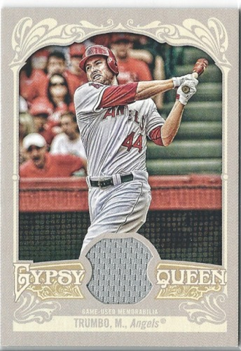 Photo of 2012 Topps Gypsy Queen Relics #MT Mark Trumbo