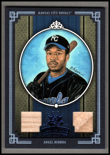 Photo of 2005 Diamond Kings Materials Framed Blue #110 Angel Berroa Bat-Bat
