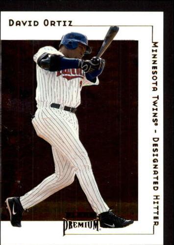 Photo of 2001 Fleer Premium #178 David Ortiz
