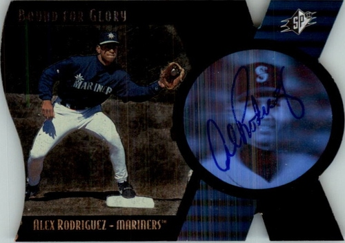Photo of 1997 SPx Bound for Glory Supreme Signatures #4 Alex Rodriguez