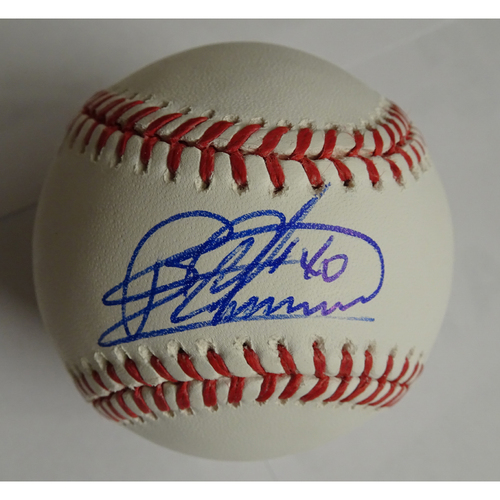 Photo of Bartolo Colon Autographed Baseball