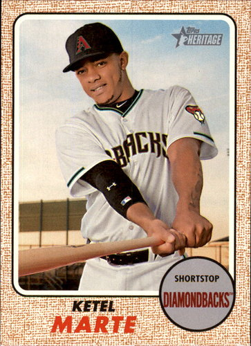 Photo of 2017 Topps Heritage #328 Ketel Marte