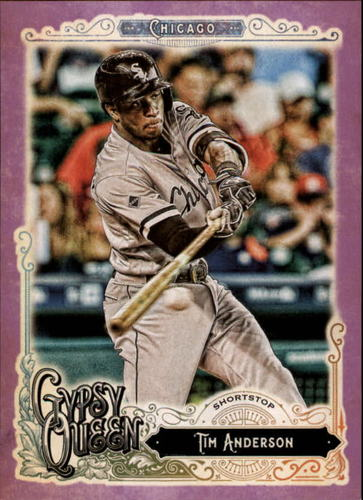 Photo of 2017 Topps Gypsy Queen Purple #107 Tim Anderson