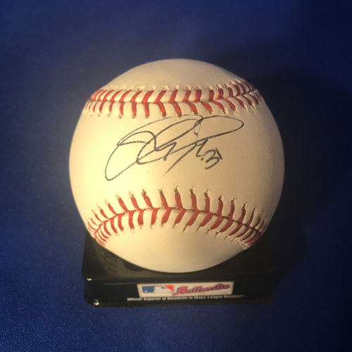 Photo of UMPS CARE AUCTION: Joc Pederson Signed Baseball