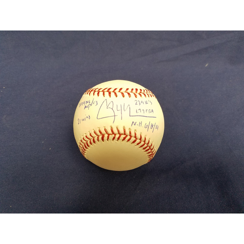 Photo of Kershaw's Challenge: Clayton Kershaw 2014 Autographed Ball