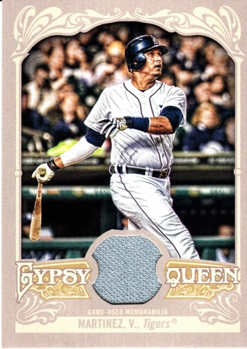 Photo of 2012 Topps Gypsy Queen Relics #VM Victor Martinez