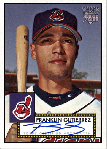 Photo of 2006 Topps 52 Signatures #FG Franklin Gutierrez H