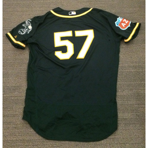 Photo of Oakland Athletics Spring Training Jersey -Daniel Coulombe