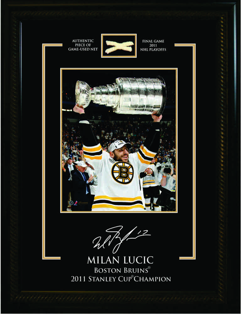 Lucic,M 8x10 Etched Mat With Stanley Cup Net