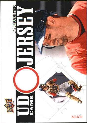 Photo of 2010 Upper Deck UD Game Jersey #JV Jason Varitek