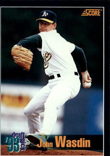 Photo of 1994 Score #571 John Wasdin RC