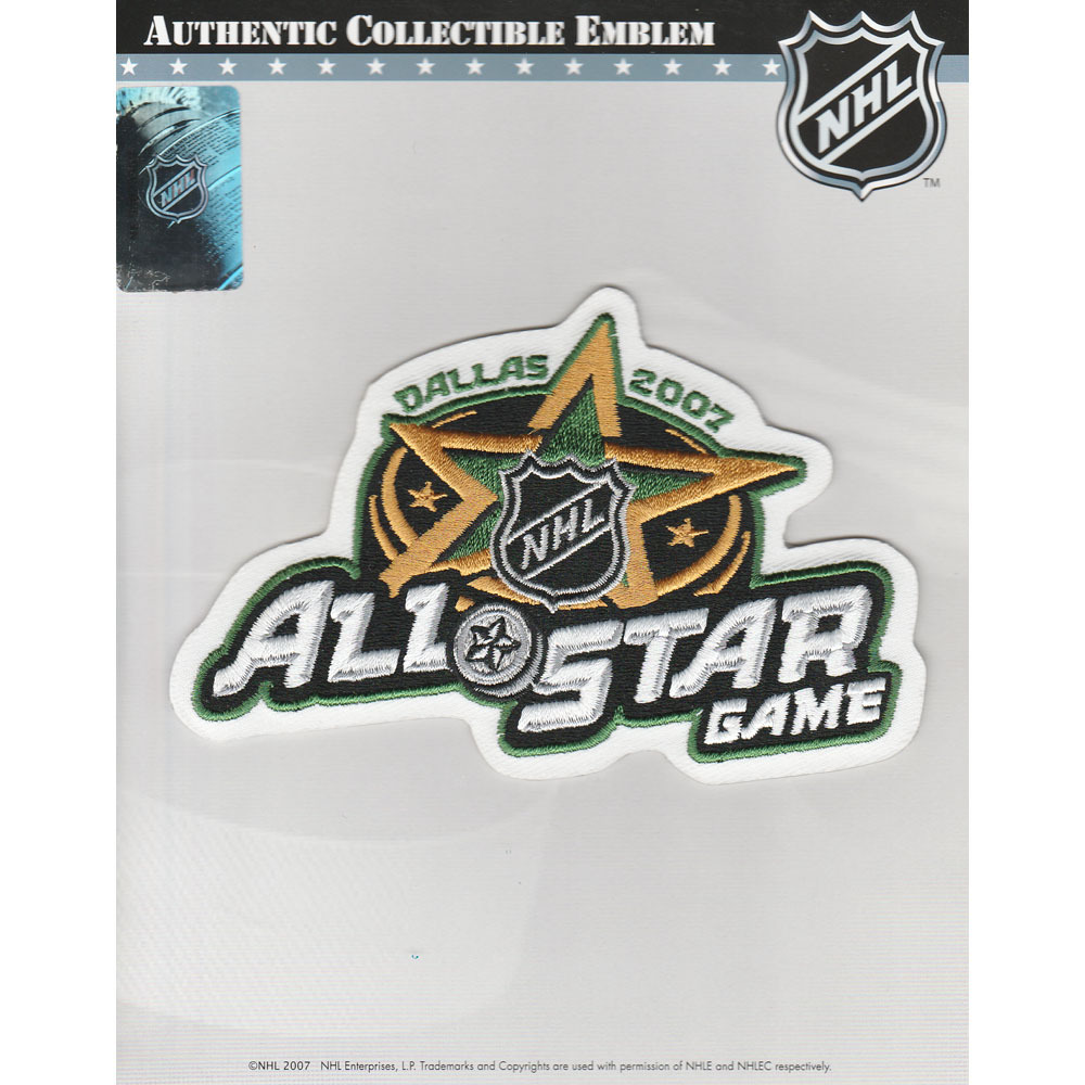 Dallas Stars 2007 NHL All-Star Game Jersey Patch