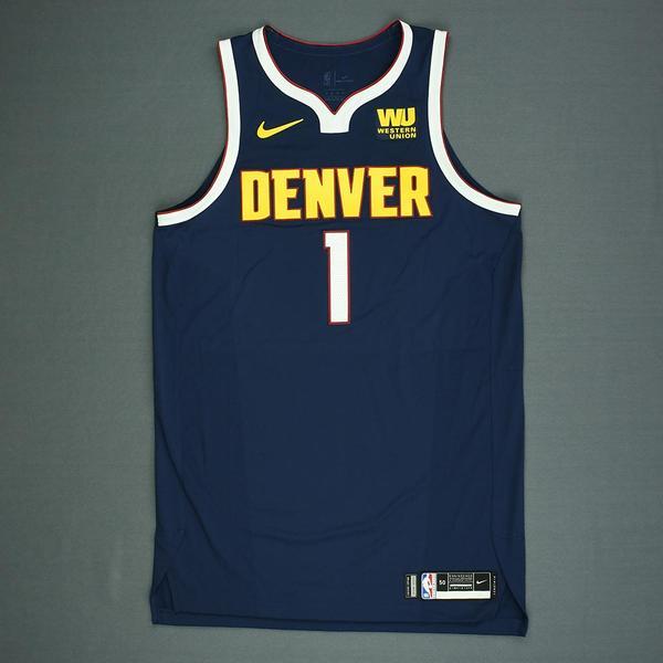 Michael Porter Jr. - Denver Nuggets - 2018 NBA Draft - Autographed Jersey 1f24fba66